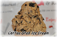 Coffee Oreo Ice Cream Flavor