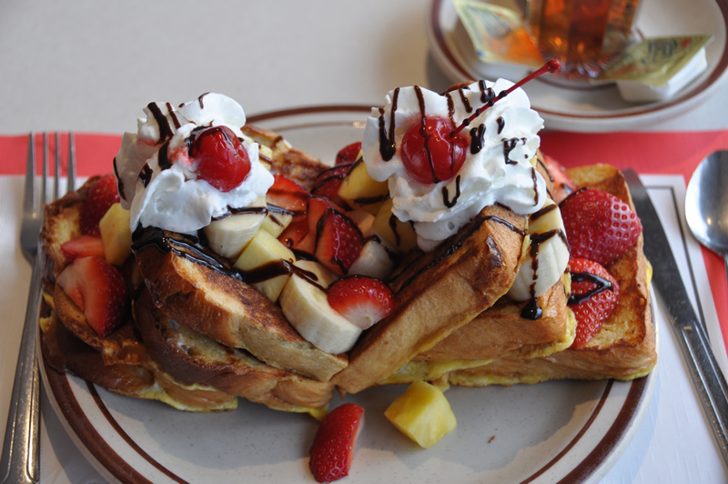 Banana Plot French Toast