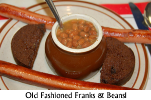 Old Fashioned Franks and Beans