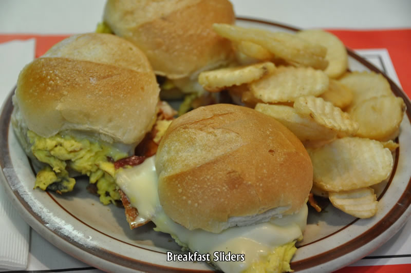 Breakfast Sandwich Sliders
