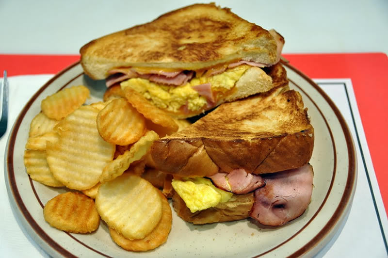 Morning Melt Breakfast Sandwich Special