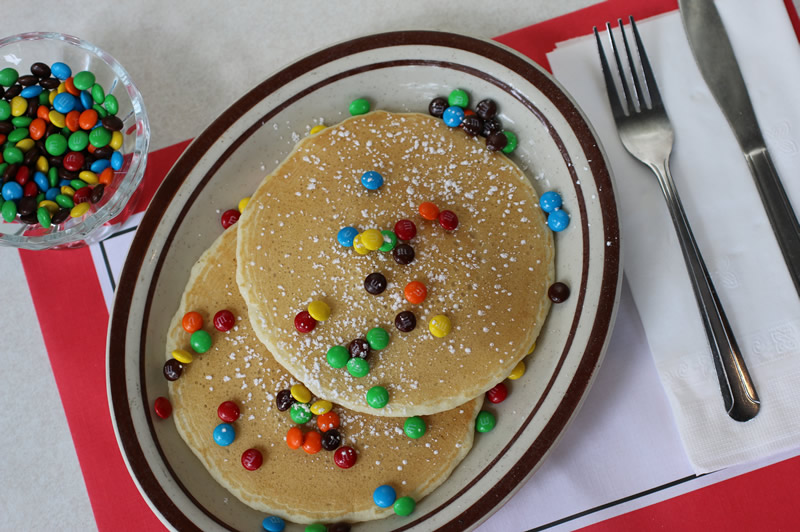 M&M© Pancake Breakfast Special
