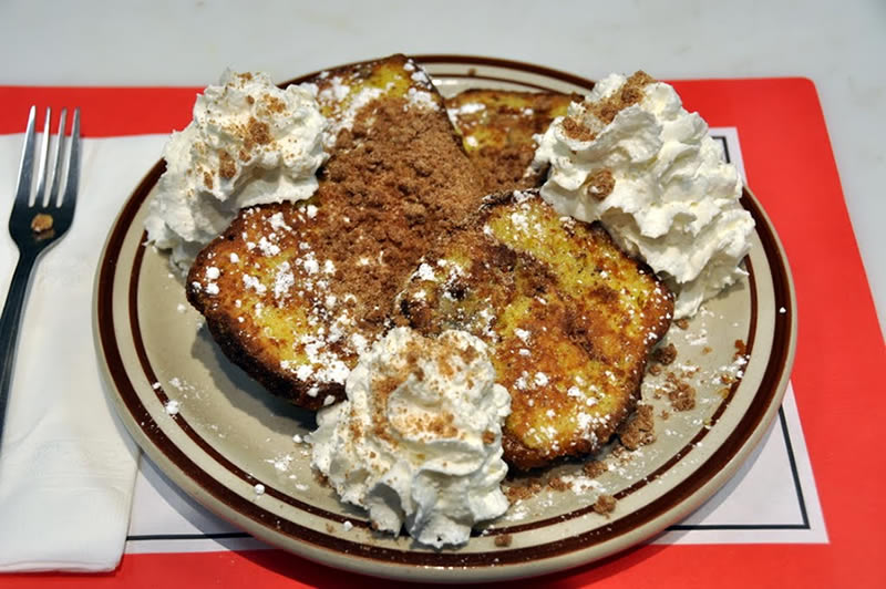 Cinnamon Walnut Coffee French Toast