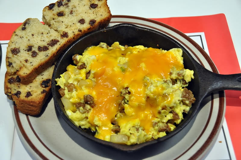 Leprechaun Scramble Skillet - March Special