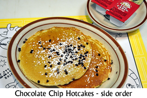 Chocolate Chip Hot Cakes