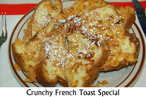 Crunchy French Toast Special