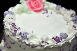 Traditional Decorated Ice Cream Cake