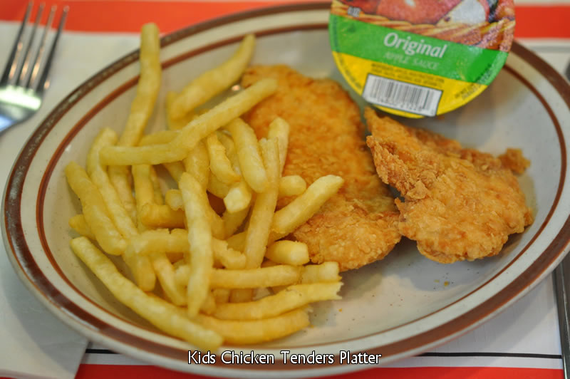 Kid's Chicken Tender Platter