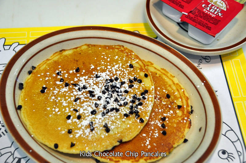 Kid's Chocolate Chip Pancakes