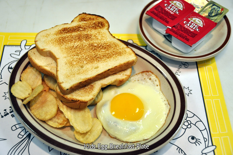 Kid's Egg Breakfast Plate