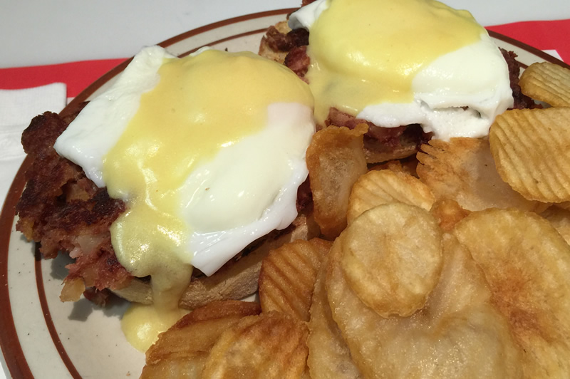 McGonagles Eggs Benedict