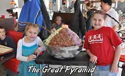 great pyramid sundae creation