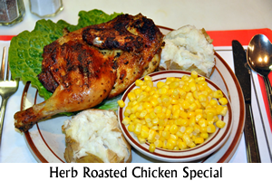 Herb Roasted Chicken Special