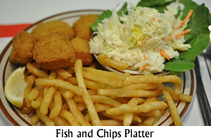 Fish and Chips Platter