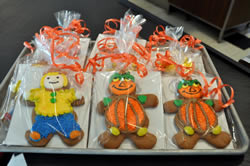 Gingerbread Halloween Gift Wrapped Cookies