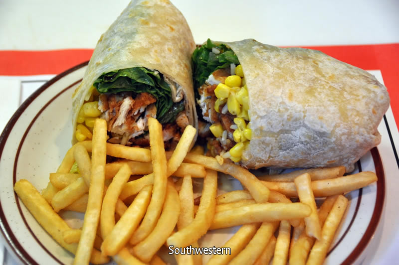 Southwestern Chicken Wrap